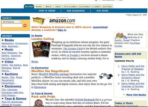 Amazon 1999