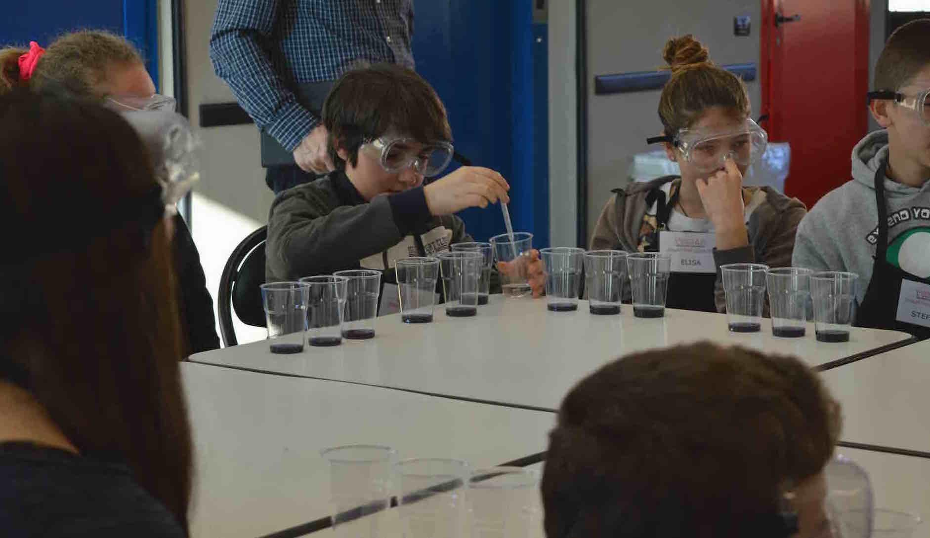 Laboratorio scientifico per ragazzi a Gessate