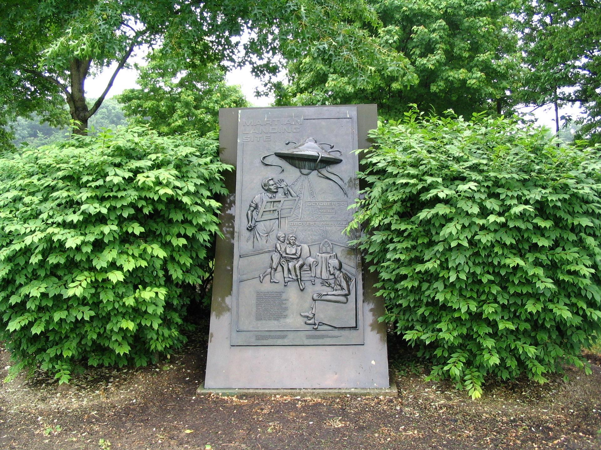 Monumento alla Guerra dei mondi di Orson Welles