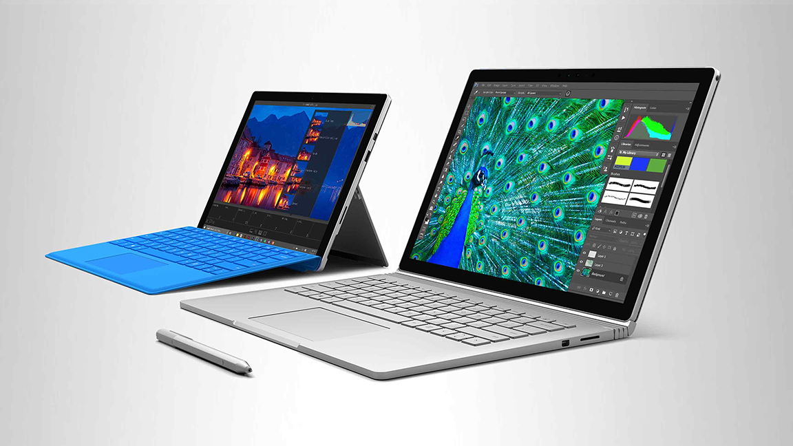 Surface Pro e Surface Book