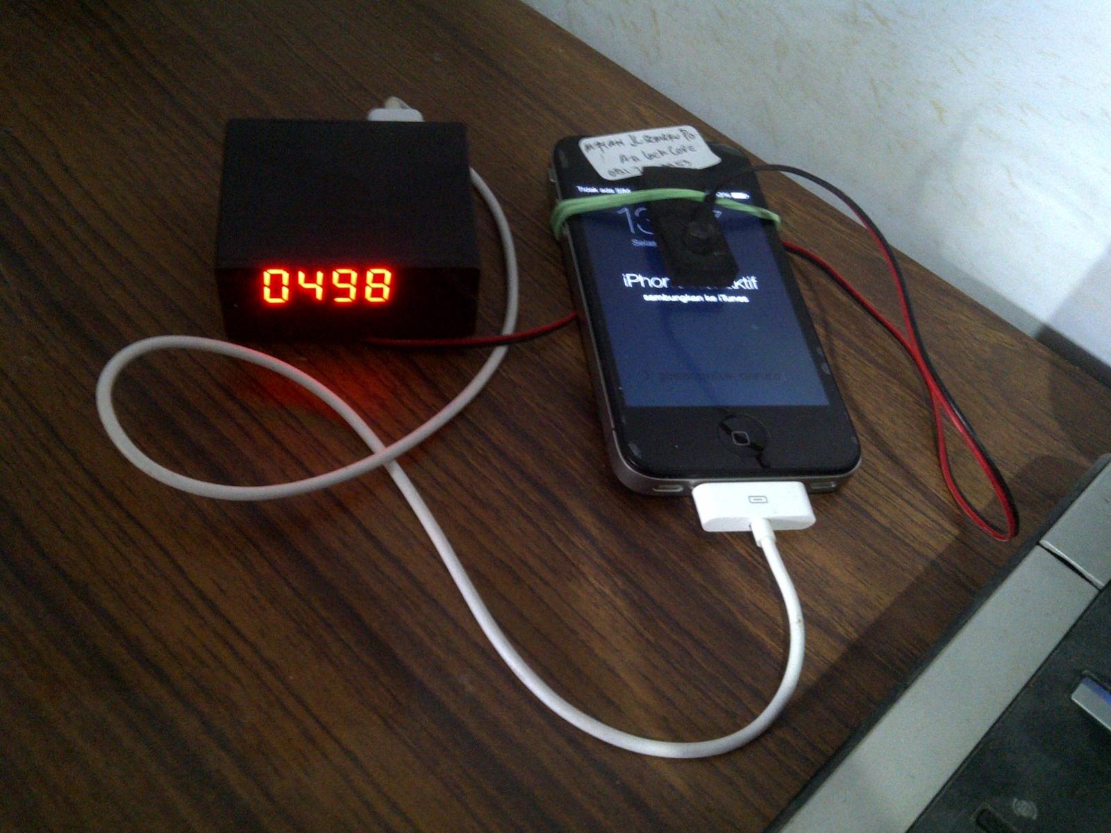 Violazione per forza bruta del PIN di un iPhone
