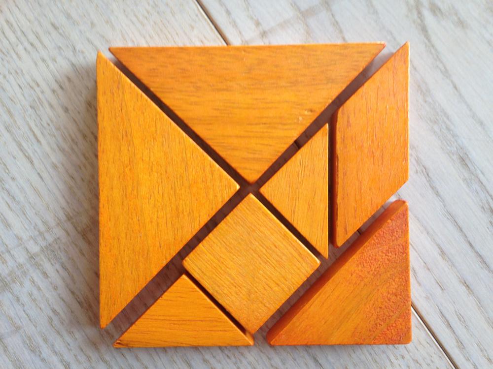 Quadrato al Tangram