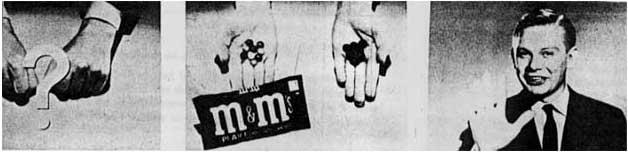Una storica pubblicità M&M's