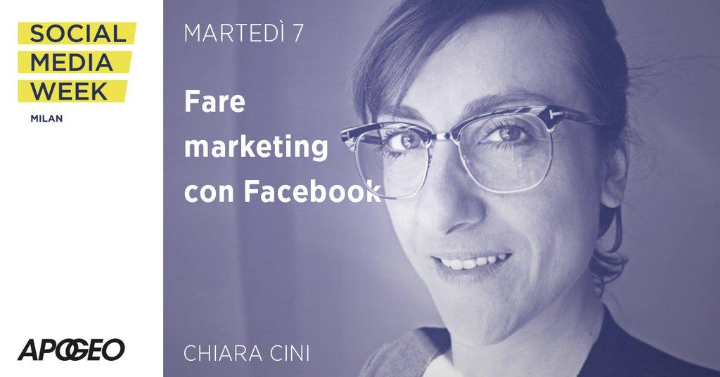 Fare marketing con Facebook - il workshop di Chiara Cini alla Social Media Week di Milano