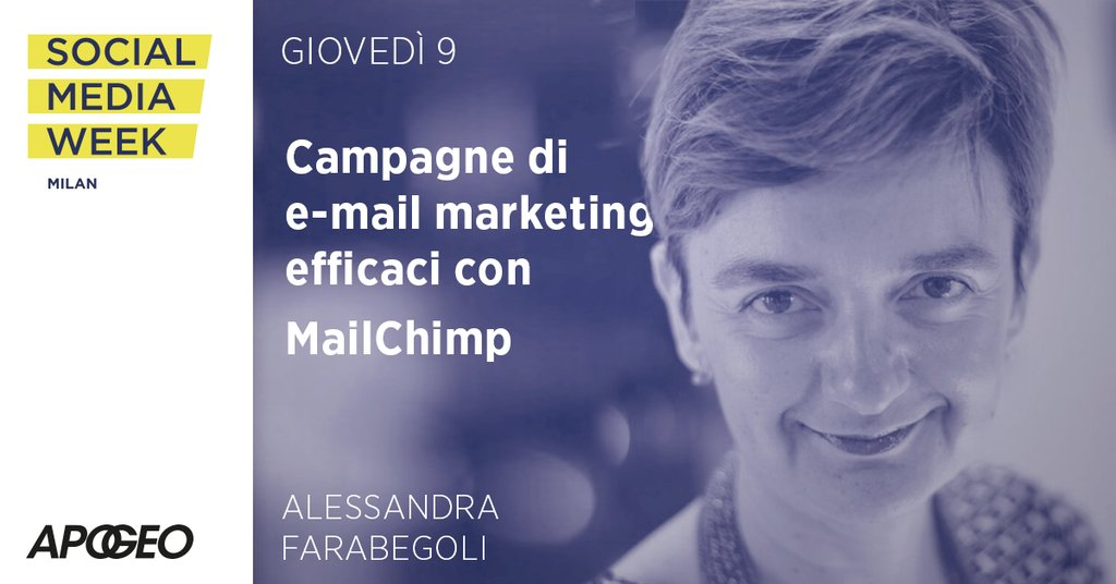 Workshop di Alessandra Farabegoli a Social Media Week Milano 2016