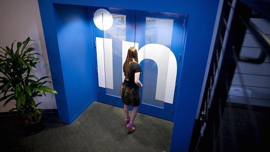 Ingresso di LinkedIn