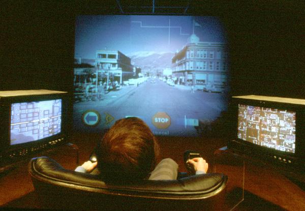 Aspen Moviemap visto in salotto