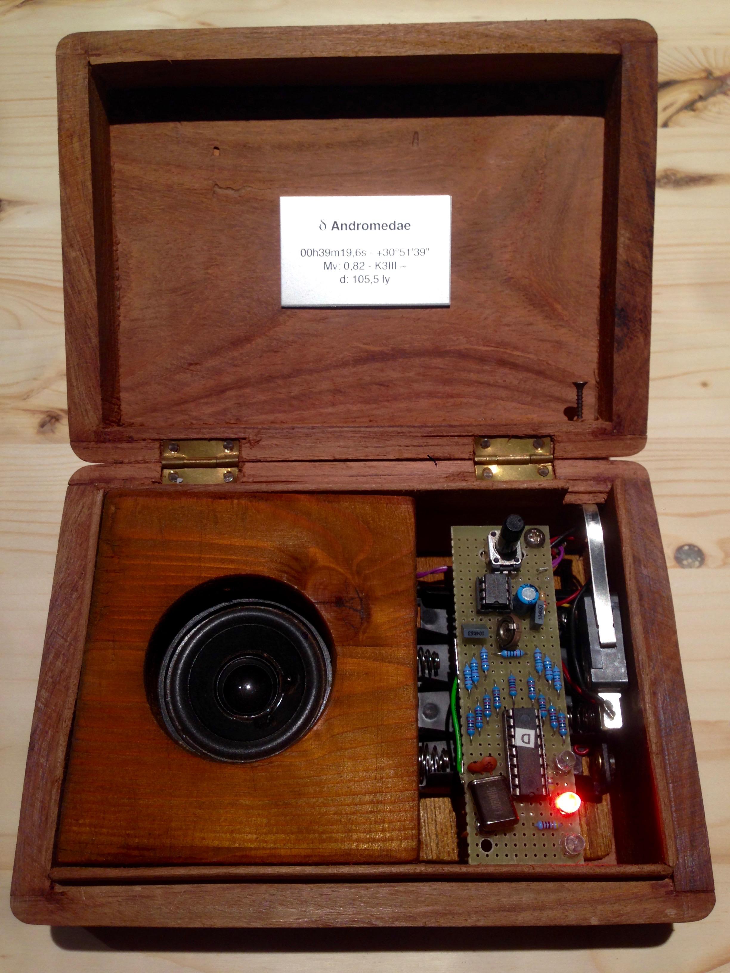 Una scatola di sonoro stellare