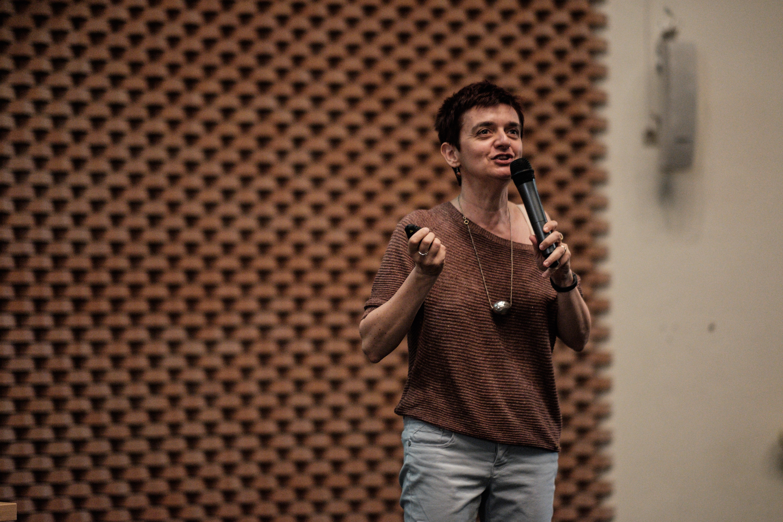 Alessandra Farabegoli a Freelancecamp - foto di Luca Sartoni