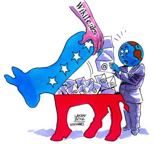 WikiLeaks e Partito democratico