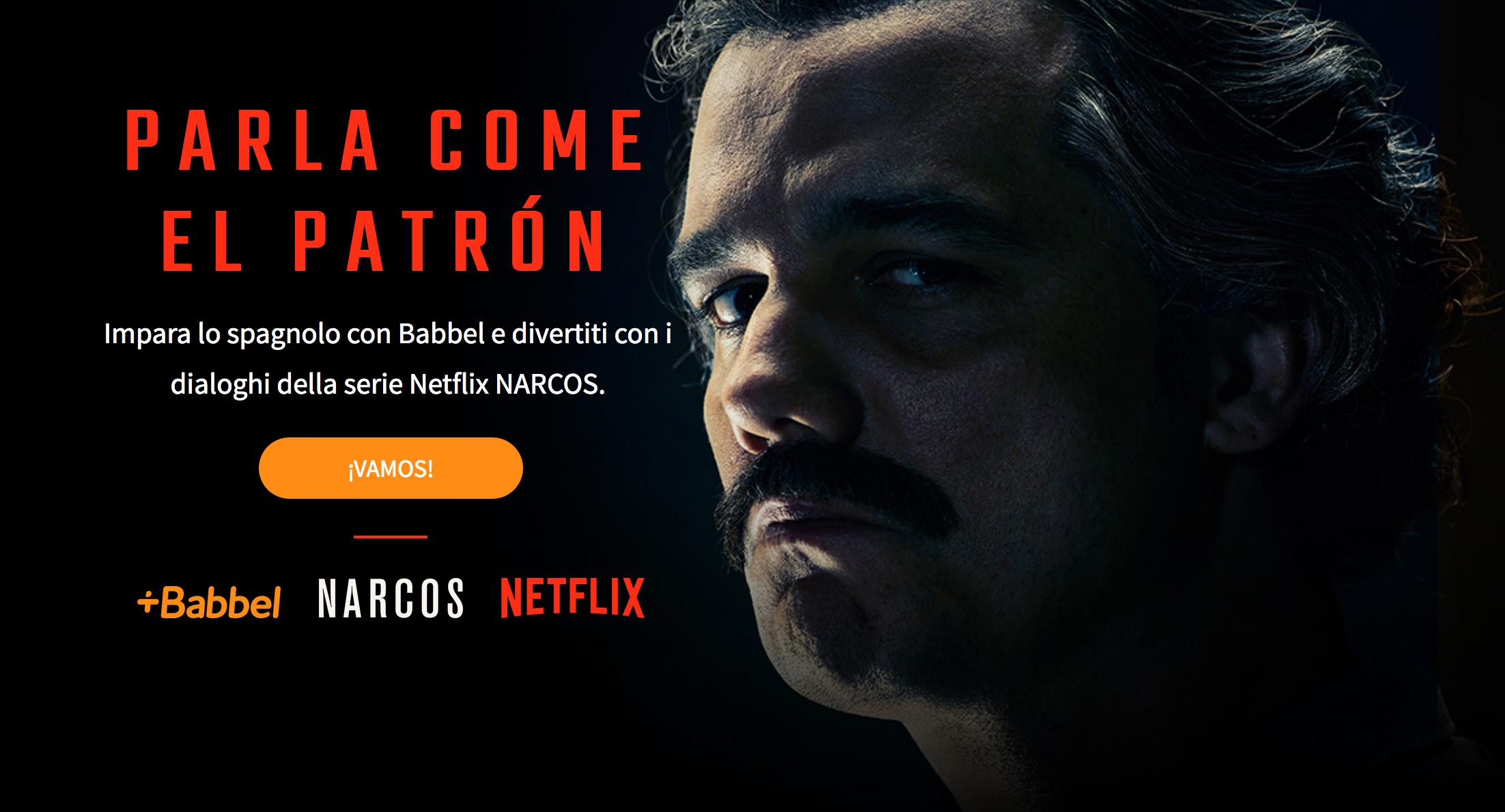 Alla scuola di spagnolo di Pablo Escobar