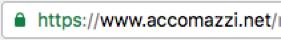 Lucchetto verde senza nome azienda: certificato https normale