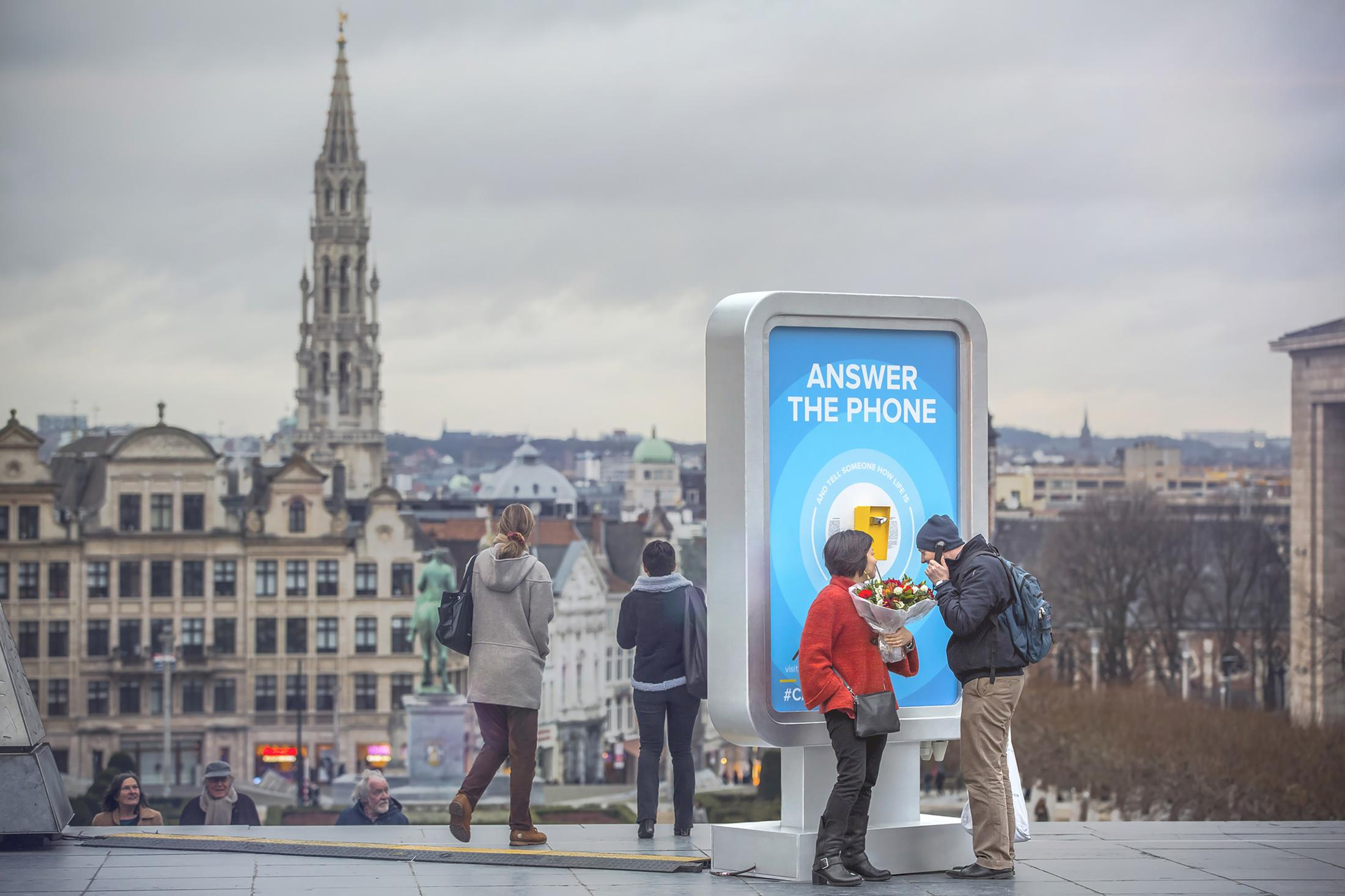 Call Brussels, premio Clio