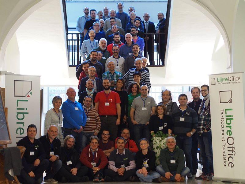Foto di gruppo a LibreItalia