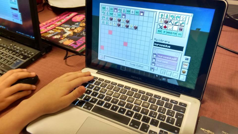 Programmazione in Minecraft