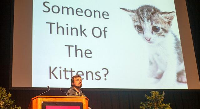 Errori in una presentazione