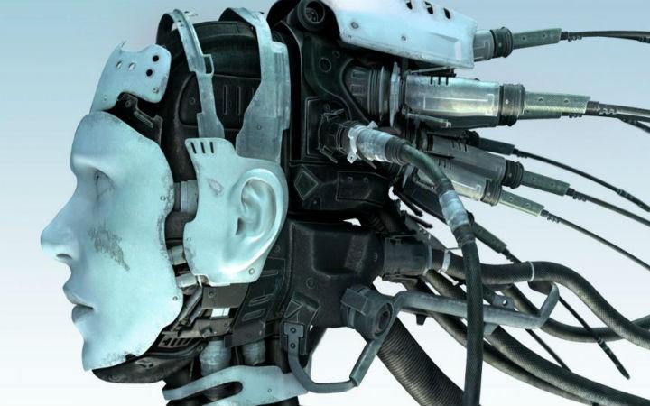 Essere cibernetica con sembianze umane