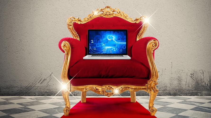 Computer sul trono