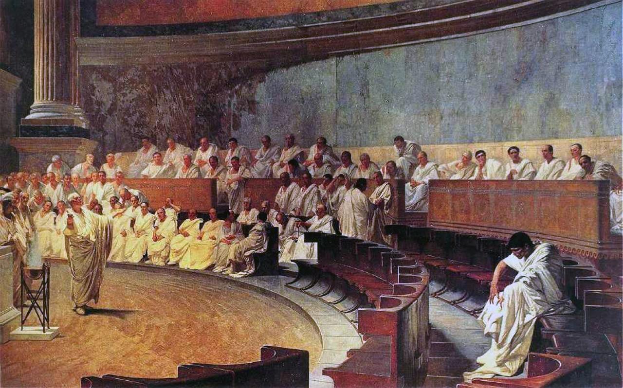 Cicerone contro Catilina
