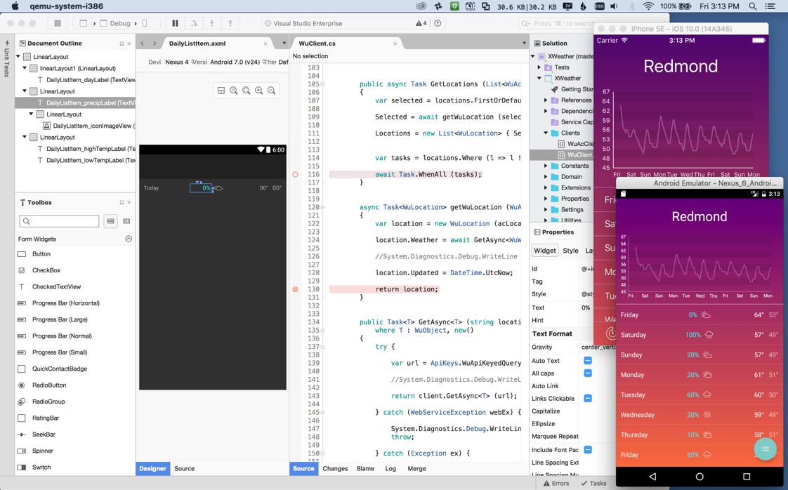 Visual Studio per Mac