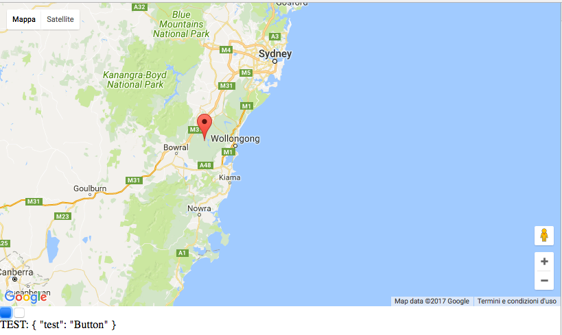 Google Maps implementato in Angular