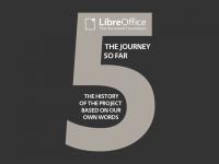 LibreOffice conta cinque
