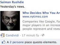 E per un giorno Salman Rushdie perse il nome