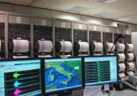 Dentro la sala che registra i terremoti