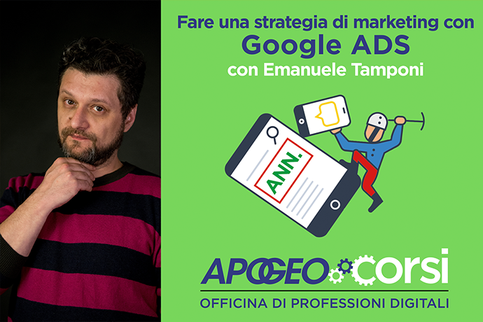 Fare una strategia di marketing con Google Ads (home page)
