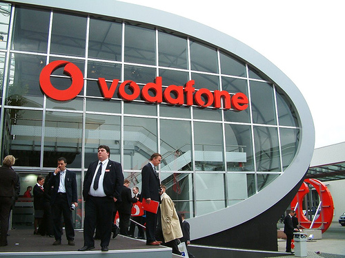 Quei messaggi a casaccio di Vodafone