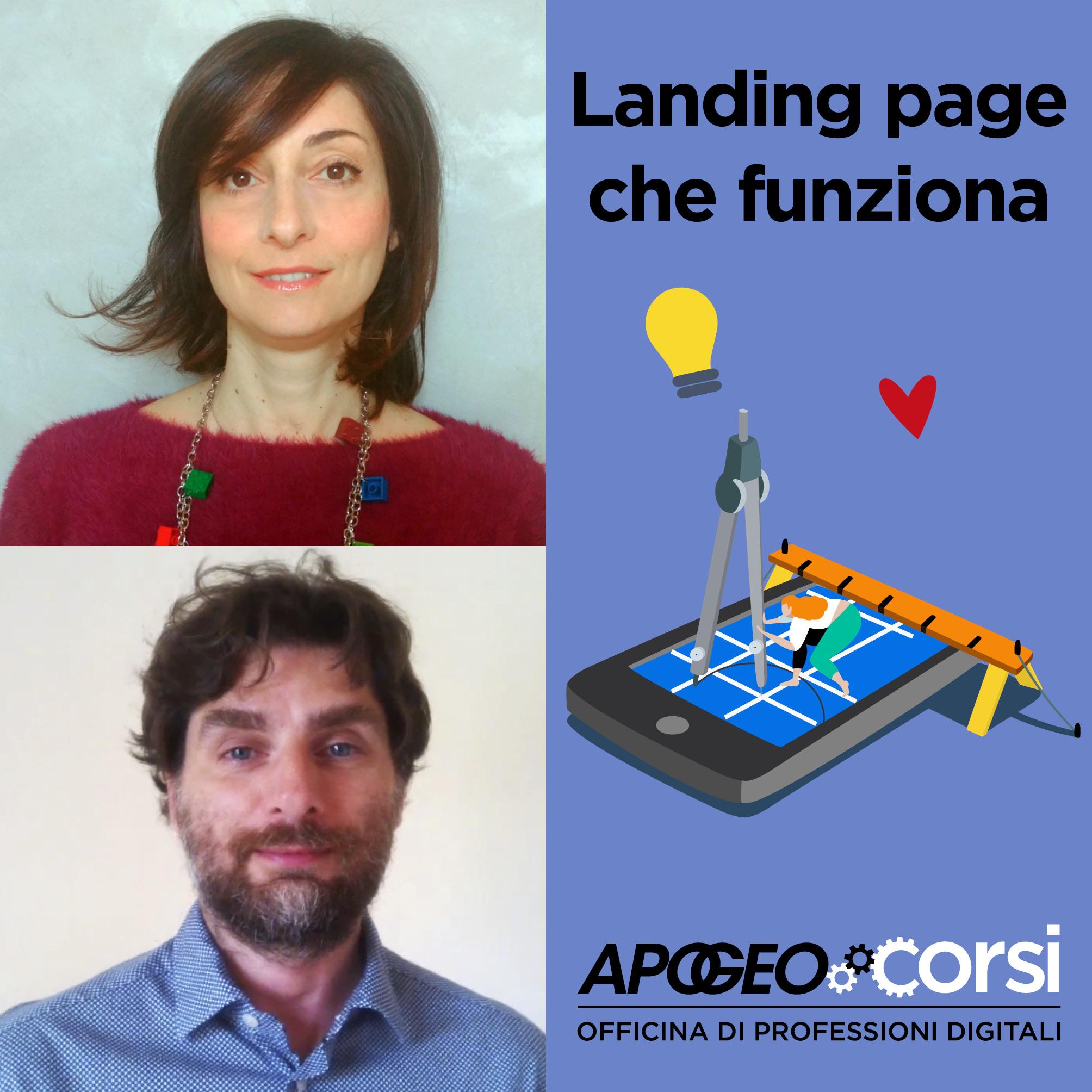Progettare contenuti per una landing page che funziona, di Valentina Di Michele e Andrea Fiacchi